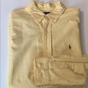 Ralph Lauren yellow oxford size XL